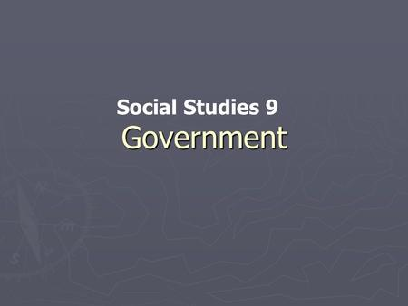 Government Social Studies 9. Agenda ► Current Affairs ► Questions about: a. Newspaper assignment b. Exploring Canadian Government c. Cartoons! d. Discussion.