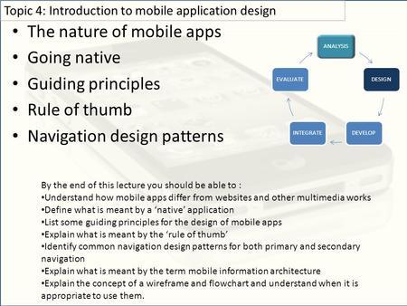 design patterns for mobile applications pdf