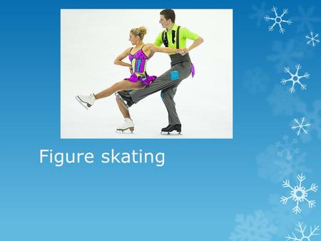 Figure skating. How does figure skating work??  Figure skaters perform leaps, spins and other graceful movements. They usually skate to music. There.