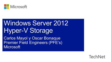 Server VirtualizationServer Virtualization Hyper-V 2012.