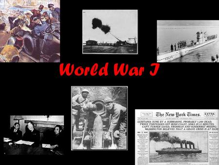 World War I. Sec. 1- The Road to War June 28, 1914 Archduke Francis Ferdinand assassination? 4 main causes of the war 1.Imperialism 2.Militarism 3.Nationalism.