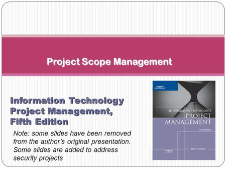 information technology project management - ppt video online download, Presentation templates