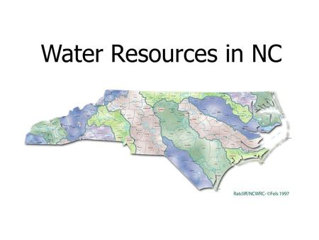 Water Resources in NC. Typical Water Budget for North Carolina.