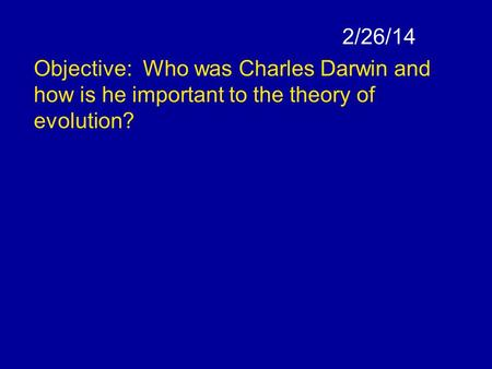 darwin theory of evolution pdf