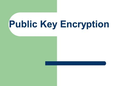 Public Key Encryption. Introduction The Problem Network security Encryption/Decryption Public Key Encryption How is data transmitted? Secure Socket Language.