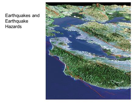 Fig. 8.00 Earthquakes and Earthquake Hazards. 3 Seismic waves allow us to look inside the Earth.