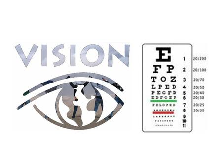 Vision. Normal Vision light is focused directly on the retina - can see clearly both near & far.