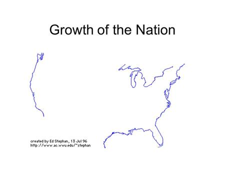 Growth of the Nation. Title: The New Government Period 6 - Pages: p. 165-169 Main IdeasSupporting Details.