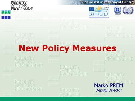 New Policy Measures Marko PREM Deputy Director. What policy? Governmental:  (1) Basic principles by which a government is guided.  (2) Declared objectives.