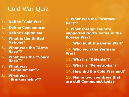 what were cold war fears dbq Aplc cold war document based question -1- advanced placement united states history cold war document based question this document based question is modeled after the college board and advanced placement program's released.