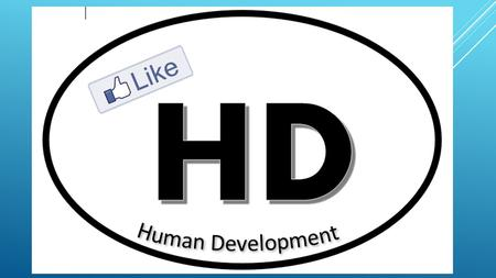 HUMAN DEVELOPMENT Trends in the subject matter.