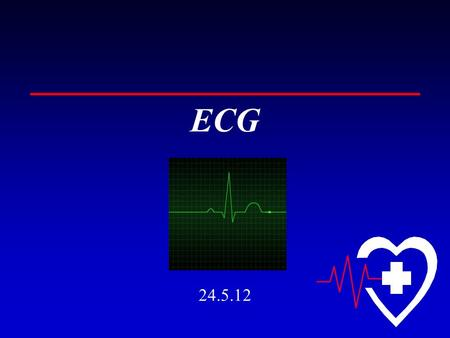 ECG 24.5.12. How ECG is done? The electrical impulses originating from the heart can be transmitted to the body surface because the body contains fluids.