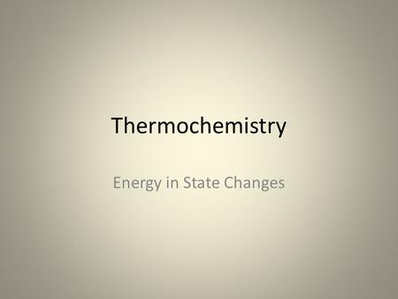 Thermochemistry Energy in State Changes. Copyright © Pearson Education, Inc., or its affiliates. All Rights Reserved. Heats of Fusion and Solidification.