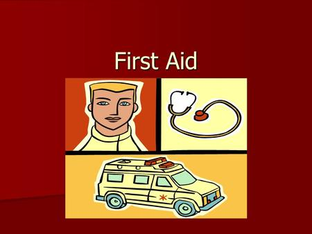 First Aid What is a serious injury? Injury Survey What is the leading cause of serious injuries for students ages 8-11? What is the leading cause of.