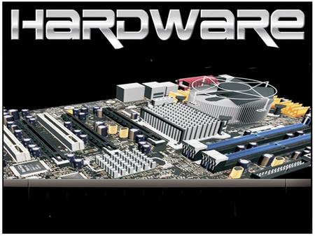 WHAT IS HARDWARE? Hardware refers to the set of components that make up the internal part of a computer. In case of the personal computers, it doesn't.