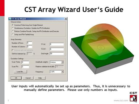 CST Array Wizard User's Guide