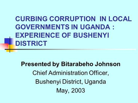 usage of technology in curbing corruption Read the full-text online edition of the role of parliament in curbing corruption (2006) science and technology sociology and anthropology by publication books.