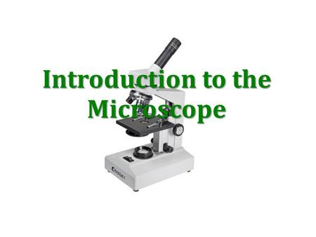 Introduction to the Microscope. Types of Microscopes The models found in most schools, use compound lenses to magnify objects. The lenses bend or refract.