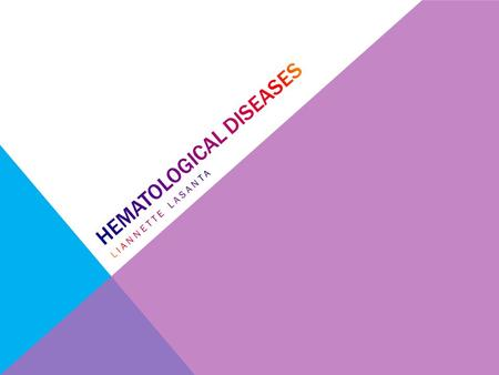 Hematological Diseases