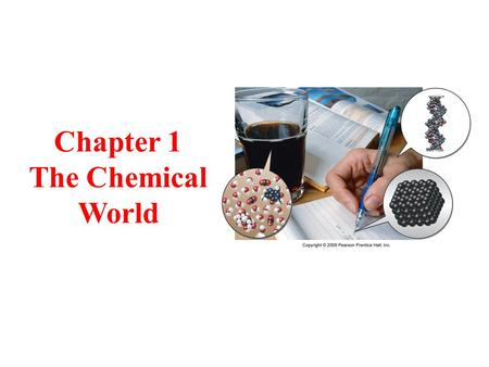 Chapter 1 The Chemical World. Tro's Introductory Chemistry, Chapter 1 2 What Is Chemistry? What chemists try to do is discover the relationships between.