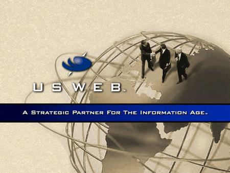 Joe Firmage Chairman & CEO Introduction to USWeb.