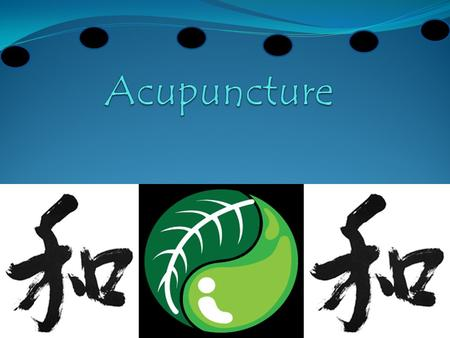  Traditional Chinese Medicine  Background  Conceptual ba sis  Acupuncture  Acupuncture for Pain Management: an evidence based review  Purpose 