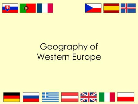 Geography of Western Europe. Where does Europe STOP? Europe and Asia are both continents, although they are both located on the same great landmass (Eurasia).