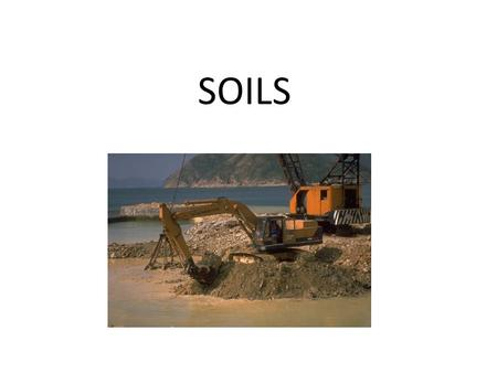 SOILS. What is soil? Soil – relatively thin surface layer of the Earth's crust consisting of mineral and organic matter.