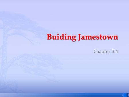 Buiding Jamestown Chapter 3.4.