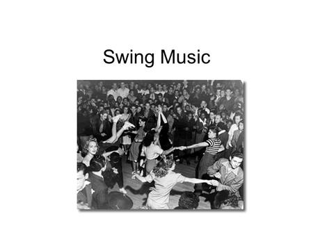 Swing Music. Swing Music was developed in the 1920's by Benny Goodman. Swing music was far more organised than jazz that had come before. Swing music,