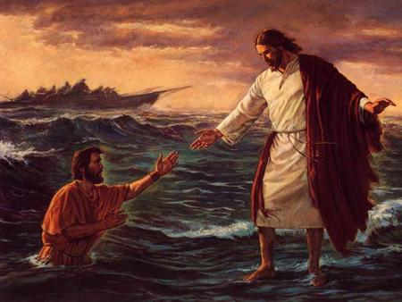 TITLE: Stepping Out of the Boat TEXT: Matthew 14:22-34 THEME: God rewards believers who take risks based on his promises.
