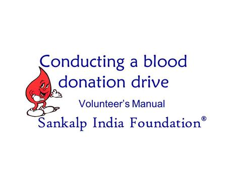 Pre and Post Donation Counselling - ppt download