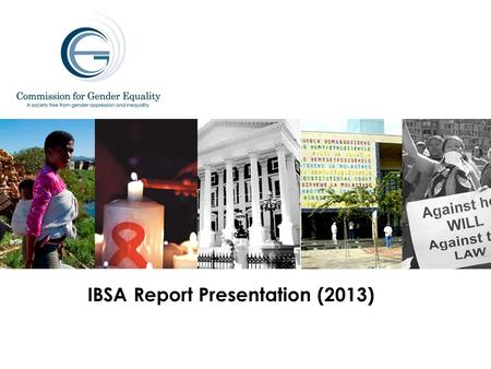 IBSA Report Presentation (2013). IBSA BACKGROUND IBSA is a unique Forum which brings together (India, Brazil and South Africa), three large democracies.