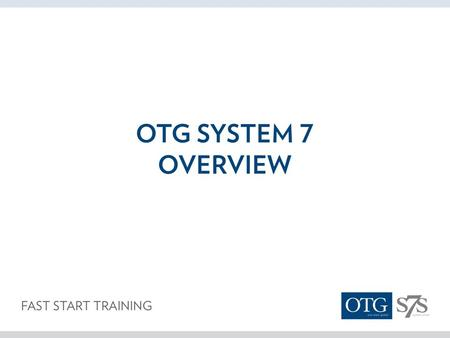 What is OTG? One Team Global is a Worldwide Group of Professionals Building Global Businesses Anyone can participate as long as you agree to abide by.