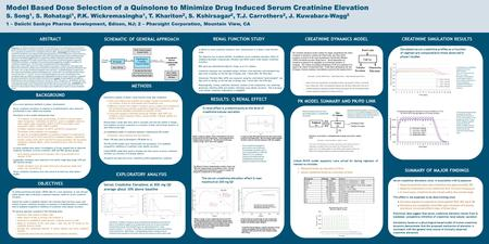 Objective: To utilize preclinical and phase I PK/PD data from a new quinolone (Q) and relevant public domain data to develop an exposure-response model.