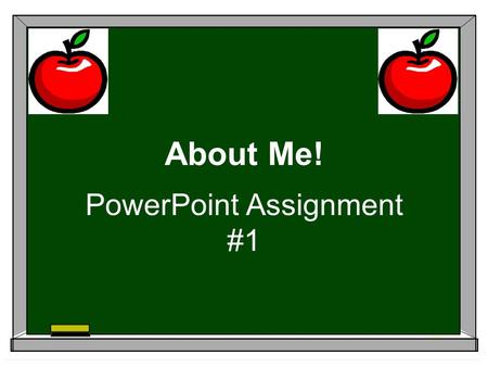 About Me! PowerPoint Assignment #1. This Is Me! Meredith Duncan1.