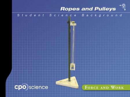 Part 5 Mechanical Advantage Mechanical advantage Mechanical advantage is the ratio of output force to input force.