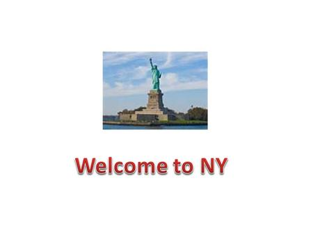The school is planning a 7 days' trip to New York. The excursion will take 7 days including flights there and back. You have been chosen to participate.