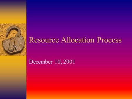 Resource Allocation Process December 10, 2001. State Budget for CCC Impact of Growth & COLA on District/College Apportionment BASE COLA Growth COLA Growth.