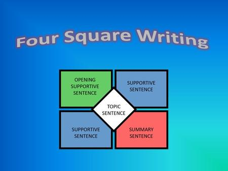 Four Square Writing.