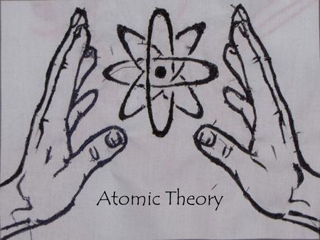 Atomic Theory. Ancient Greeks Democritus' idea (theory) was: All matter is made of small pieces that cannot be divided any smaller. The word ATOM means.