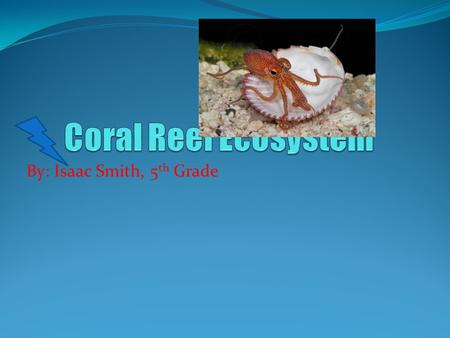 By: Isaac Smith, 5 th Grade. Coral-ly Facts Facts Photos The coral reef is only about 125 feet deep. There are about 45 species of stony coral. All coral.