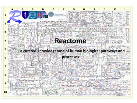 Reactome - a curated knowledgebase of human biological pathways and processes.
