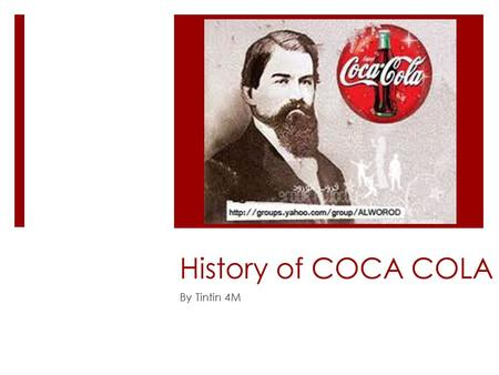 An overview of the invention of coca cola in 1886 by dr john s pemberton