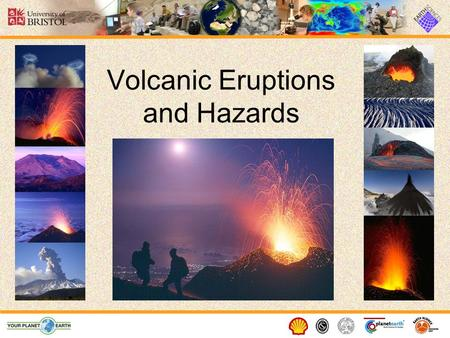 Volcanic Eruptions and Hazards. What is a volcano? A volcano is a vent or 'chimney' that connects molten rock (magma) from within the Earth ' s crust.