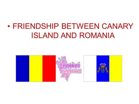 FRIENDSHIP BETWEEN CANARY ISLAND AND ROMANIA. LAS PALMAS DE GRAN CANARIA Playa.