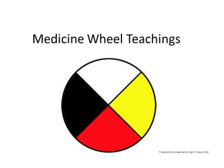 Medicine Wheel Teachings