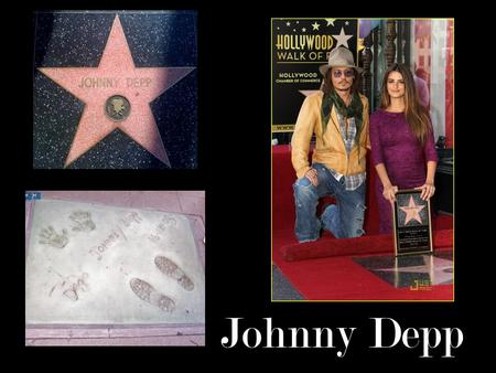 Johnny Depp. His first role in TV 12 Jump Street 1980's.
