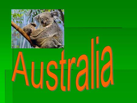 1. Australia is not a \an a) Country b) Island a) Country b) Island c) City d) Continent c) City d) Continent.