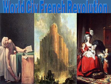 THIS IS With Host... Your 100 200 300 400 500 Causes of the French Revolution French Revolution I French Revolution II Napoleon More Napoleon Vocabu.